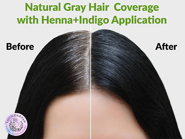 Amazing Natural Way to Cover Gray Hair without Dye