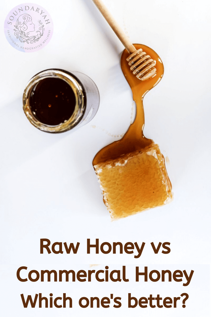 Raw Honey vs Commercial Honey