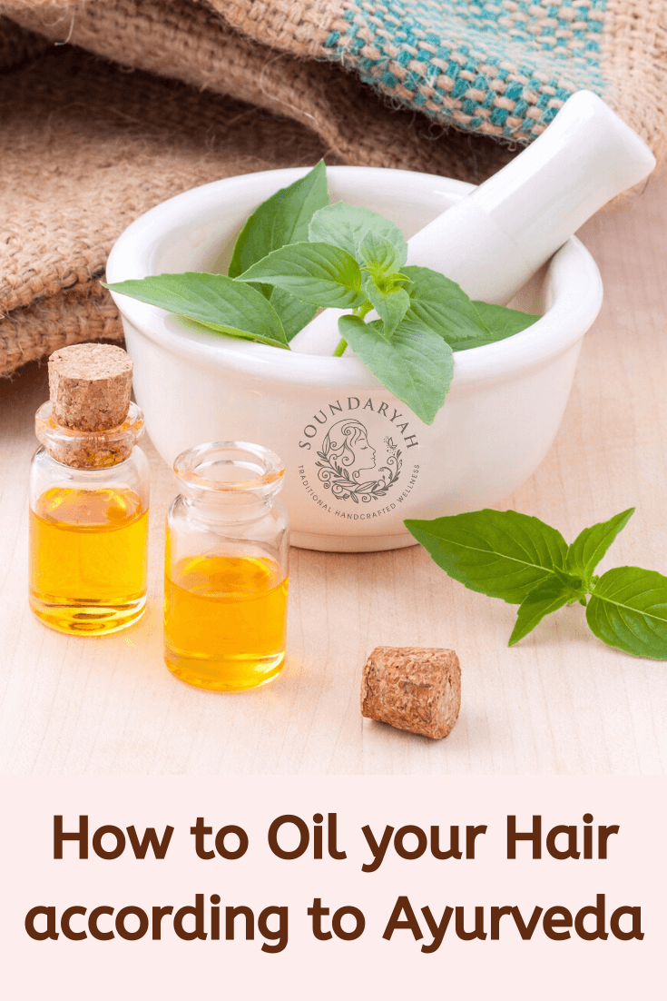 how to oil your hair