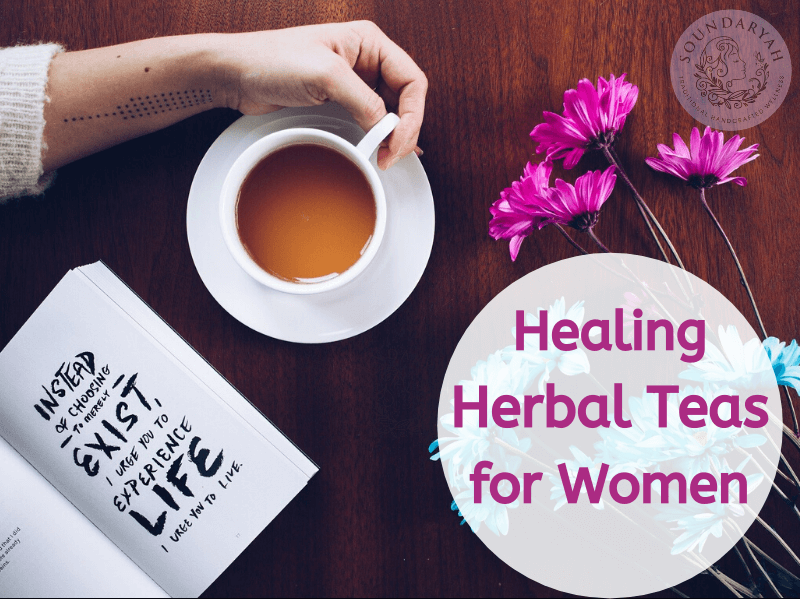 There's always time for tea! Check out our list of the top five healing herbal teas for women, with numerous health benefits!