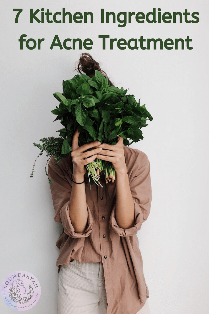 Struggling with acne? The remedy is in your kitchen! These 7 Kitchen Ingredients for Acne Treatment will help get rid of acne - naturally and gently!