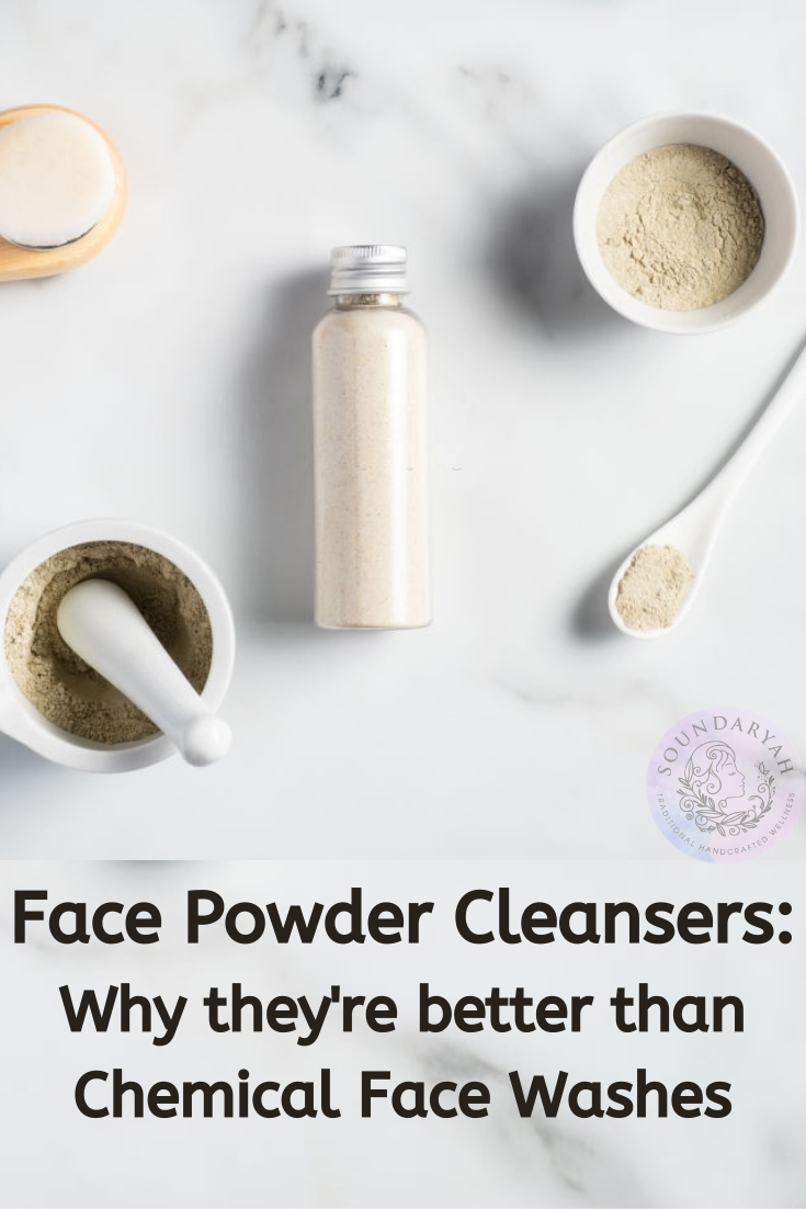 Is your face wash good for you? Find out why herbal face powder cleansers score over chemical face washes.